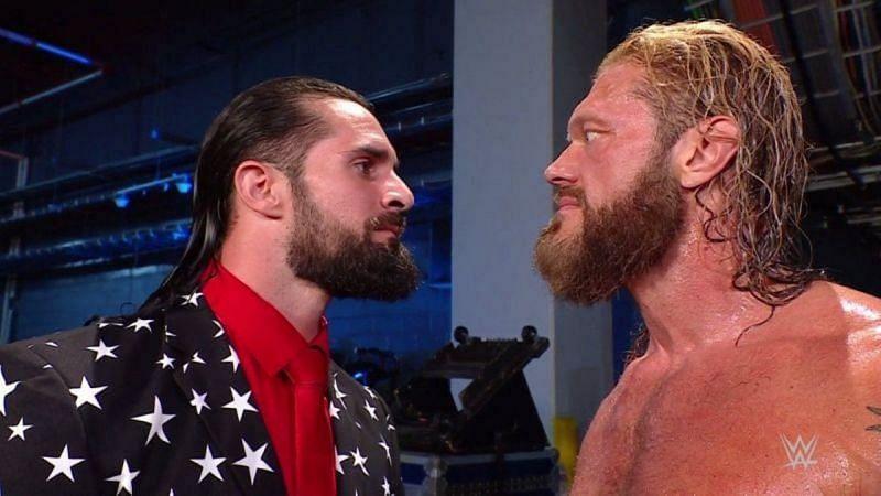 WWE SmackDown के इस हफ्ते के एपिसोड के दौरान सैथ रॉलिंस, ऐज के घर में घुस गए थे