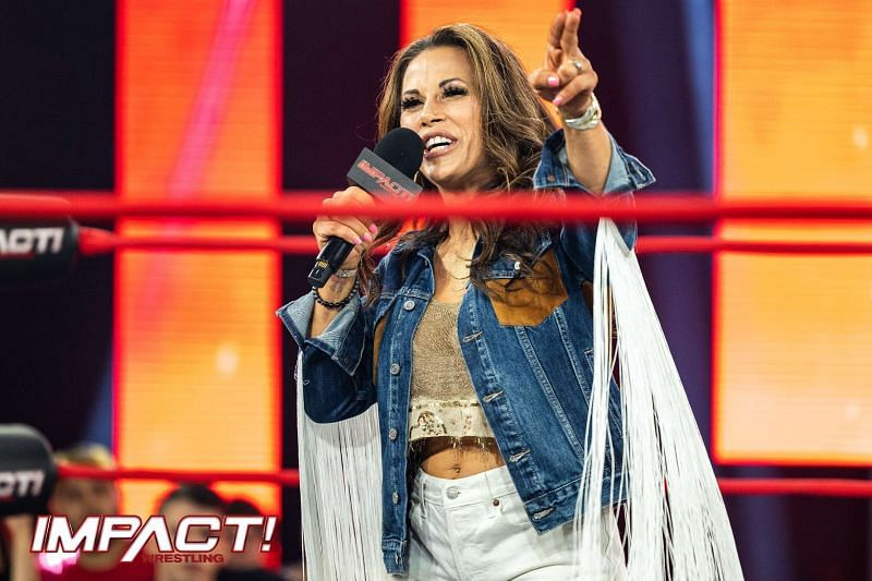 Mickie James is slated to clash with Deonna Purrazzo soon