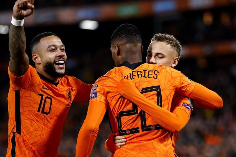 Netherlands coach Louis van Gaal picked up his fourth consecutive win since returning.