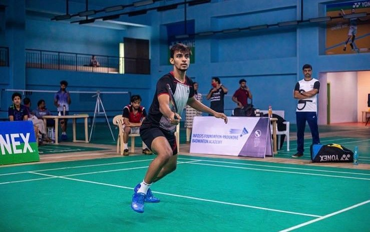 Kiran George will play in the men's singles for India in the Thomas Cup