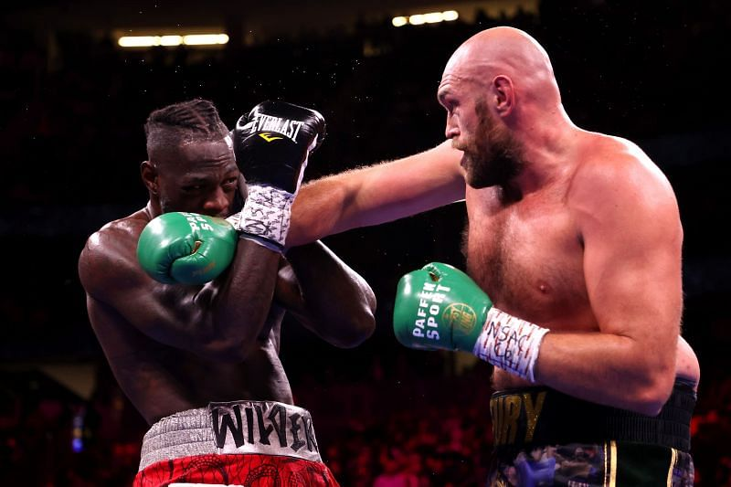 Tyson Fury secured a knockout victory over Deontay Wilder in their trilogy fight