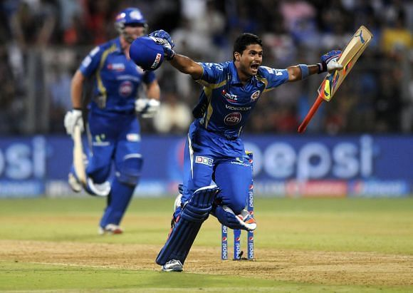 Aditya Tare's last-ball six will be fondly remembered by MI fans