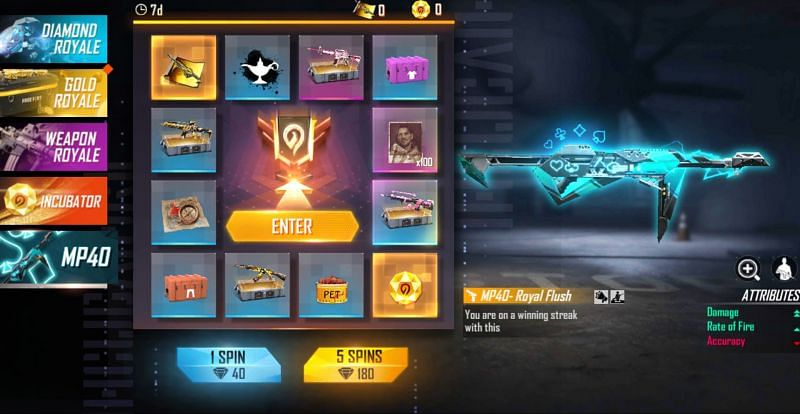 Players can then go ahead and exchange the rewards (Image via Free Fire)