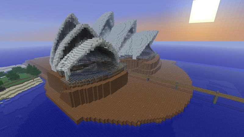 Minecraft architecture is genuinely limitless with the use of mods (Image via Press Start)