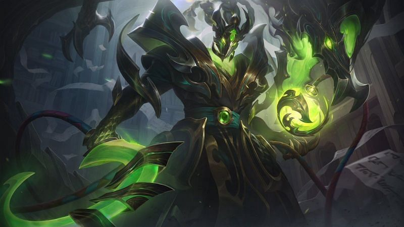 Steel Dragon Thresh (Image via League of Legends)