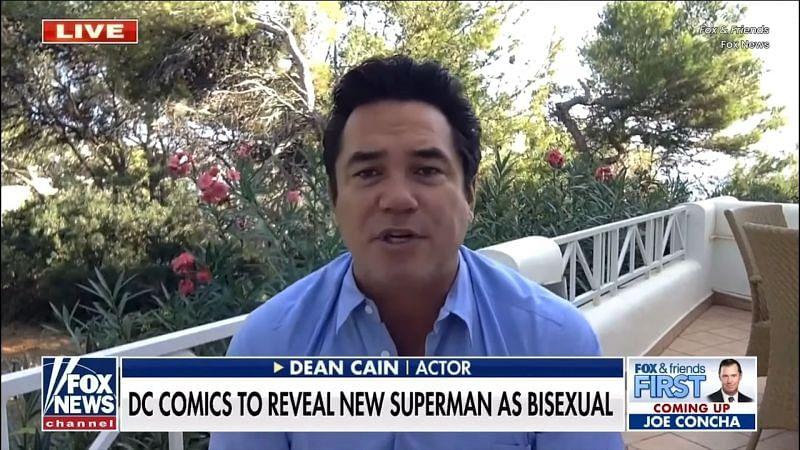 Dean Cain on Fox and Friends (Image via Fox News)