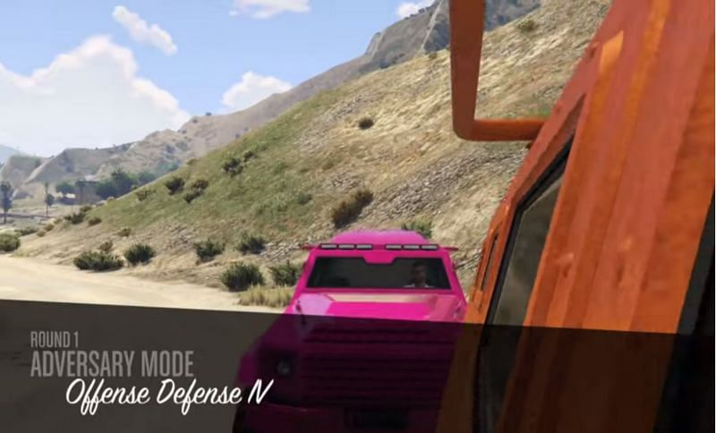 Welcome to Offense Defense (Image via Rockstar Games)