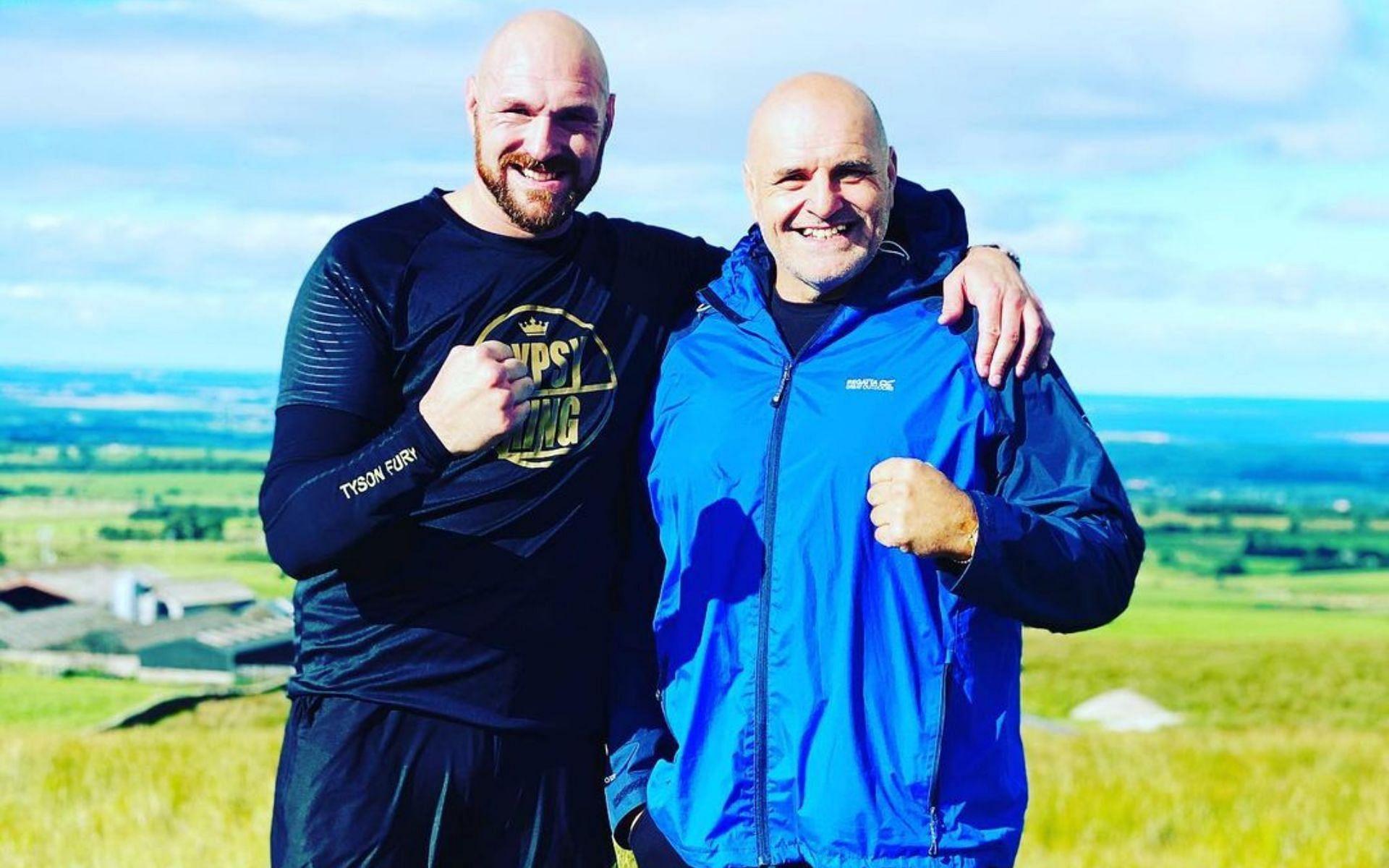 Tyson Fury and John Fury [Photo via @gypsyjohnfury on Instagram]
