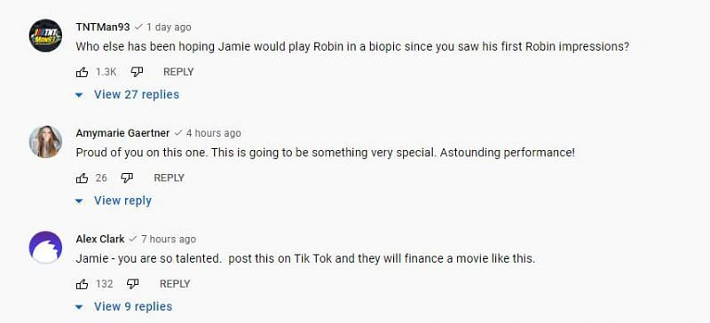 YouTube Comments 3/4
