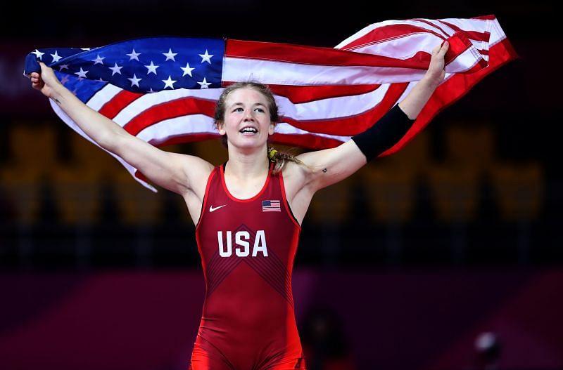 Sarah Hildebrandt won bronze medal at the Olympics.