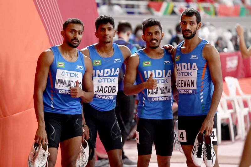 The national men's 4x400m relay team will skip the National Open 400m Championships