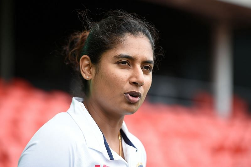 Amy Hunter's hundred helped her beat the record set by Mithali Raj