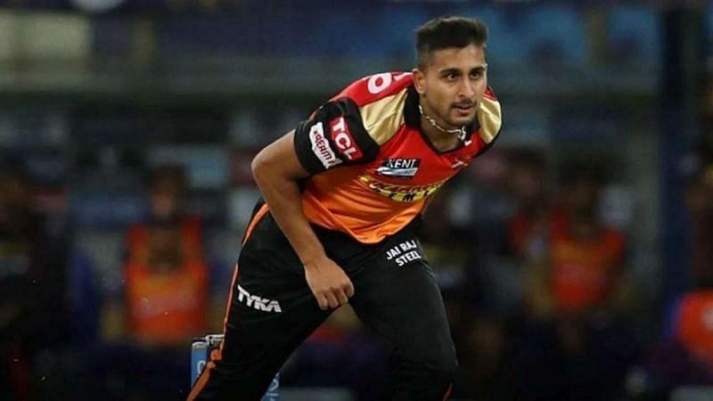 उमरान मलिक ने IPL में लगभग 153 Km/h की रफ्तार से गेंद फेंकी थी (Photo - BCCI / IPL)