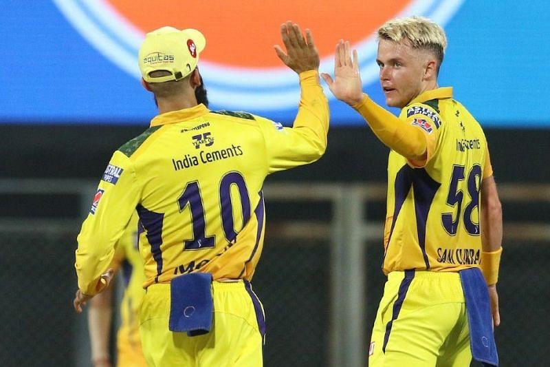 सैम करन आईपीएल 2021 में चेन्नई सुपर किंग्स का हिस्सा हैं