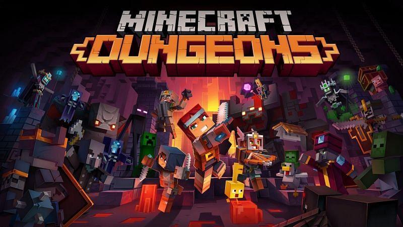 Minecraft Dungeons (Image via Mojang/Wallpaperaccess)