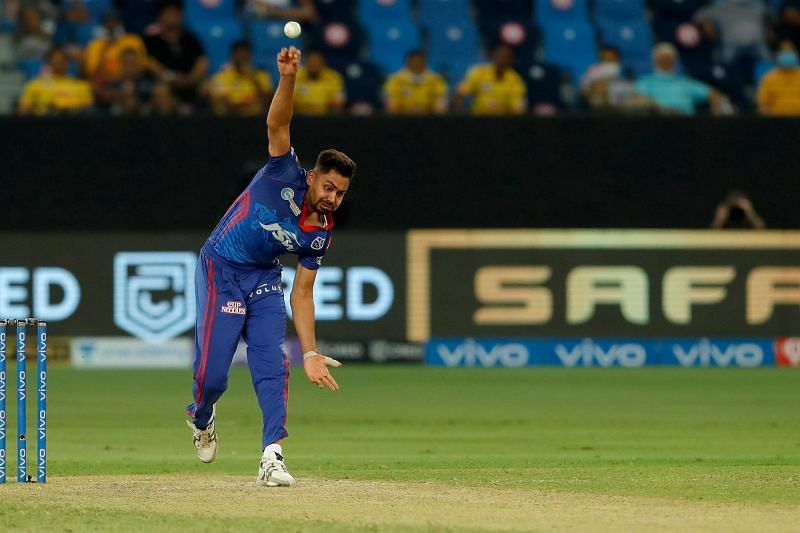 Avesh Khan bowled the crucial 19th over for the Delhi Capitals. [P/C: iplt20.com]