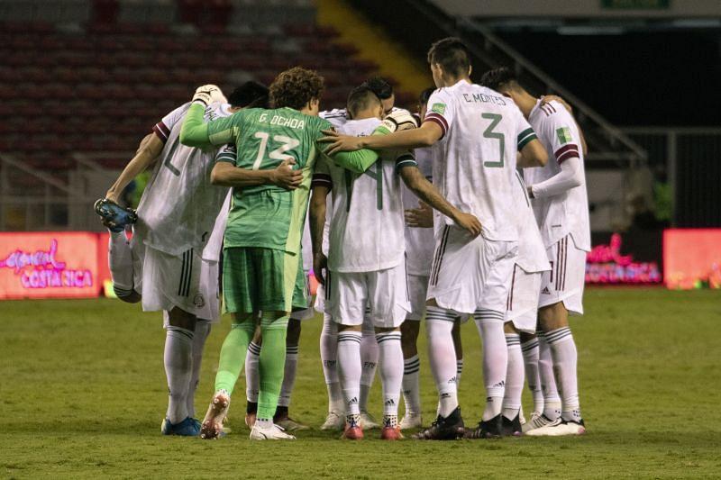 Mexico travel to the Estadio Cuscatlán to take on El Salvador
