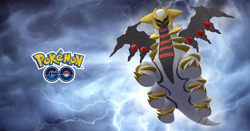Altered Giratina is a popular pick in Pokemon GO battles, and taking it on isn't easy (Image via Niantic).