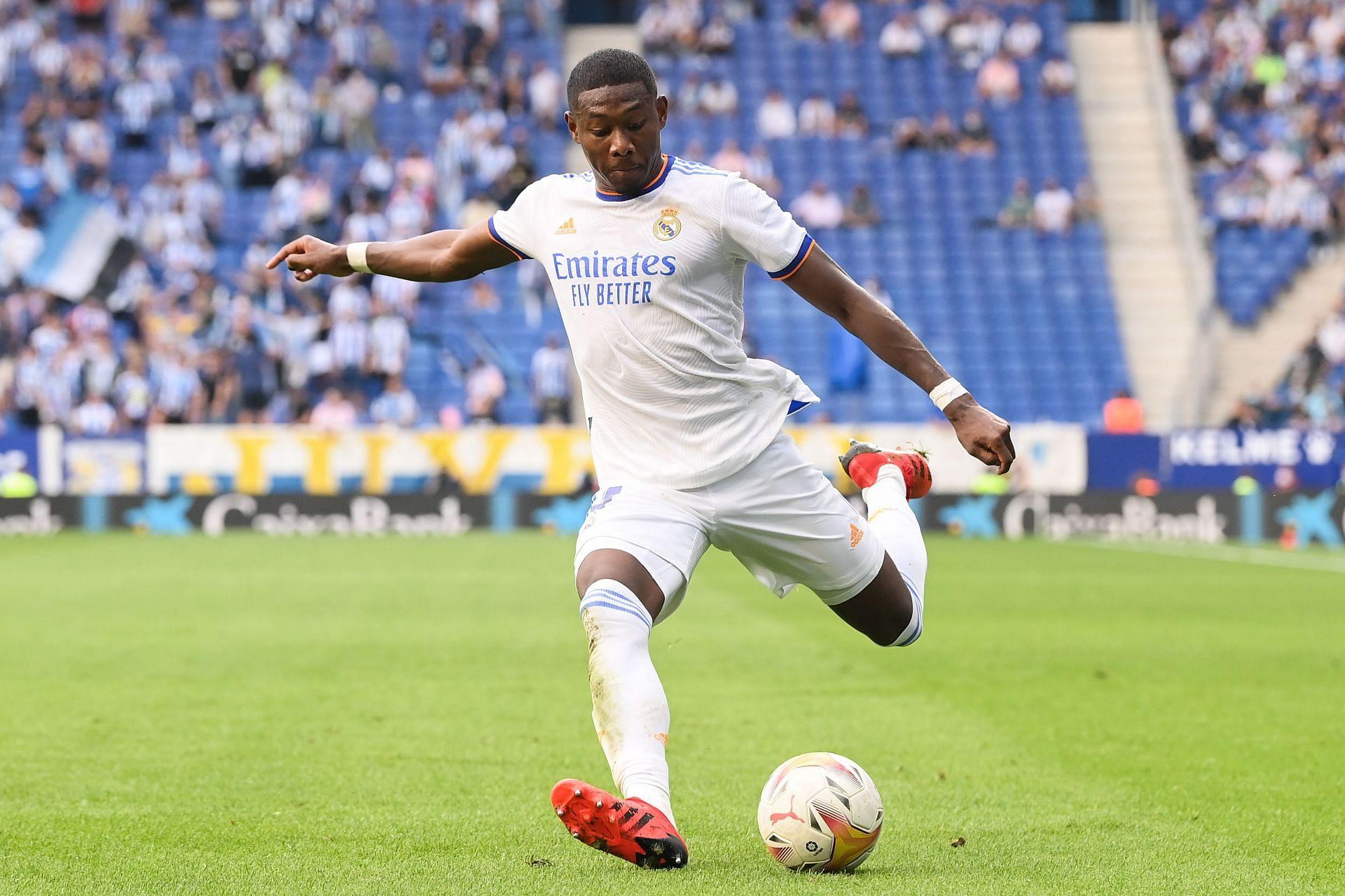 David Alaba moved to Real Madrid last summer.