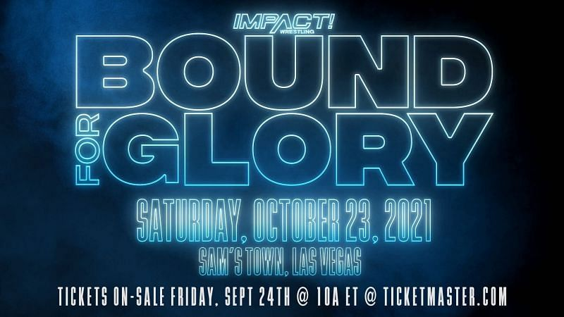 Bound For Glory is IMPACT Wrestling's biggest pay-per-view of the year.
