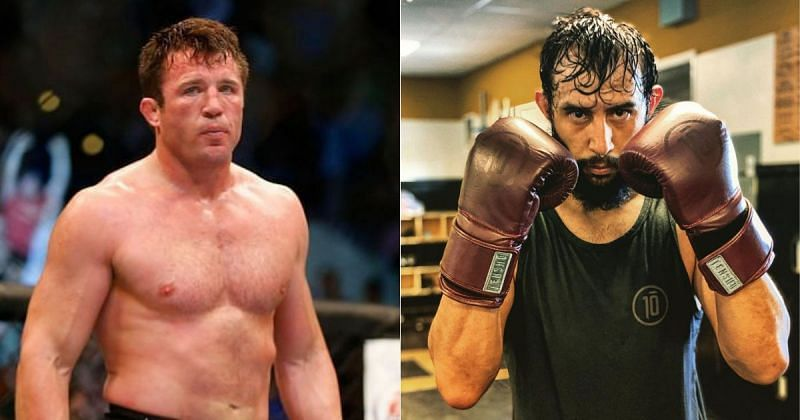 Chael Sonnen (left) and Dominick Reyes (right) [Image credits: @domreyes24 on Instagram]