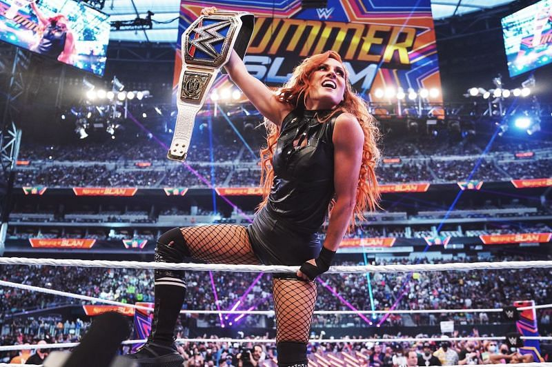 Becky Lynch is ready to take on all challengers.