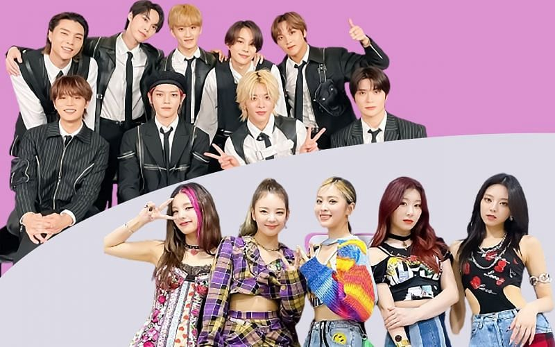 NCT 127 and ITZY (Images via Twitter/@NCTsmtown_127 and @ITZYofficial)