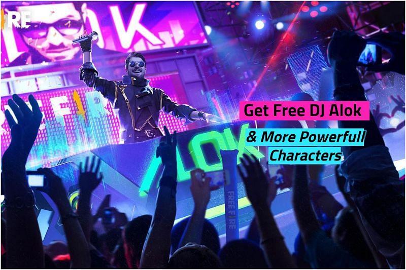 Free Fire में DJ Alok और अन्य ताकतवर कैरेक्टर्स कैसे खरीदें?