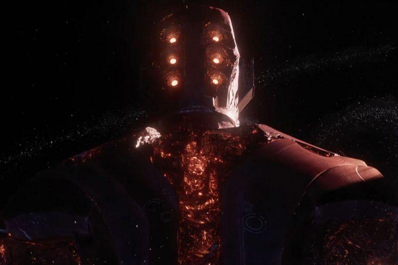 Arishem in the trailer (Image via Marvel Studios)