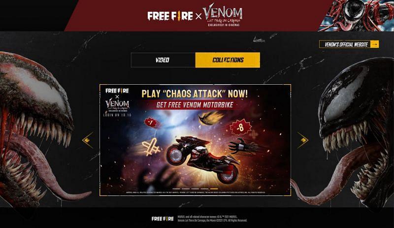 Venom Motorbike (Image via Free Fire)