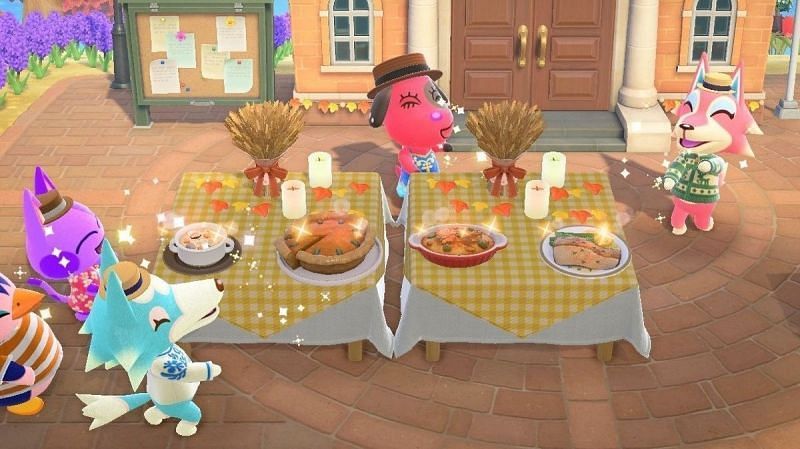 Players and villagers will partake in the festivities (Image via Nintendo)