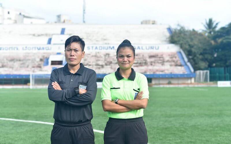 रंजीता देवी और रि-ओलांग धर आई-लीग मुकाबलों में रेफरी के रूप में कार्य करेंगी।