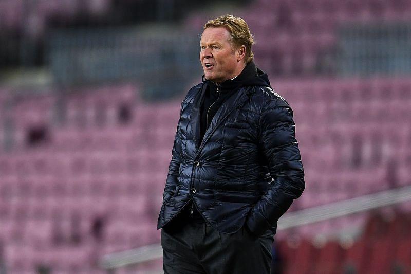 Barcelona manager Ronald Koeman. (Photo by David Ramos/Getty Images)