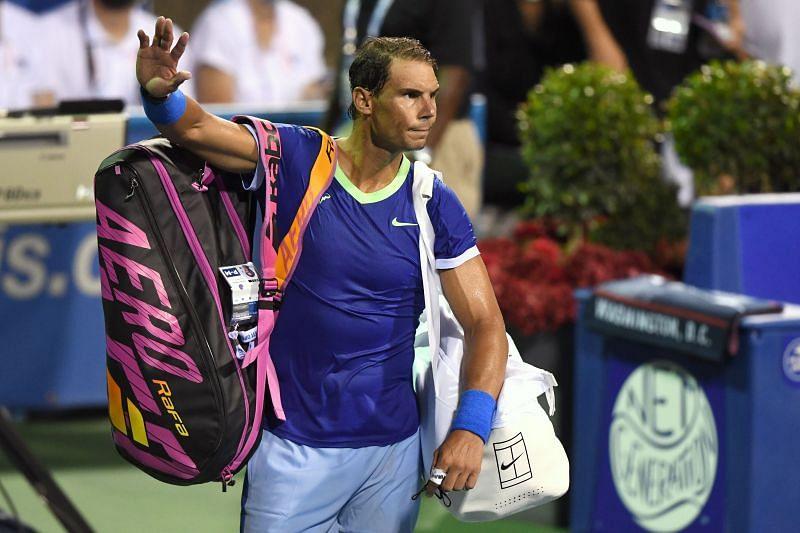 Rafael Nadal at the 2021 Citi Open