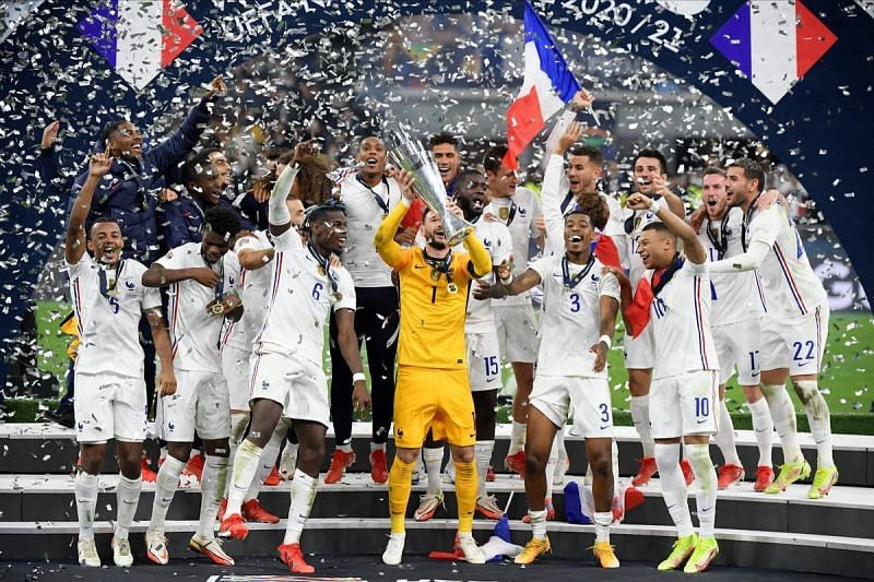 France are the Nations League winners.