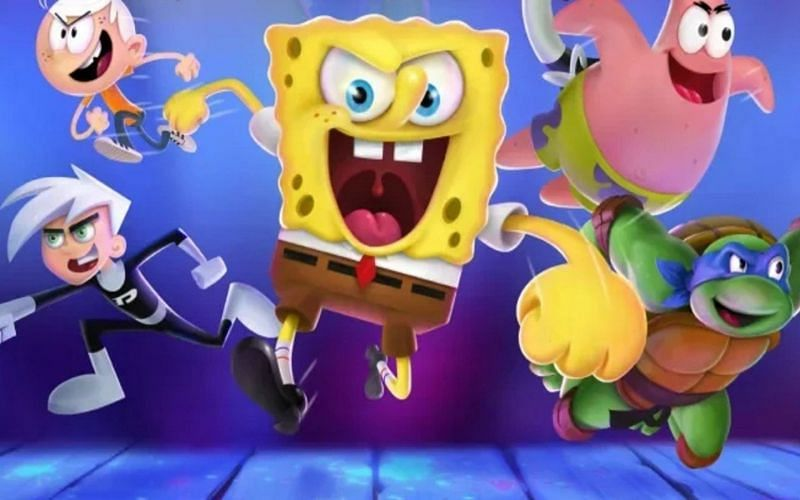 Many characters from beloved shows appear in Nickelodeon All-Star Brawl (Image via Ludosity Games)