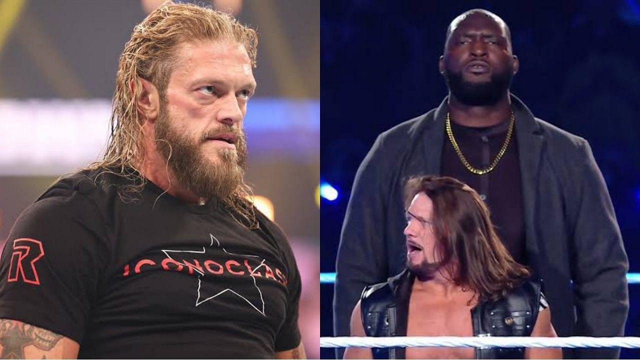 WWE सुपरस्टार ऐज और ओमोस Crown Jewel में पहली बार मैच लड़ते हुए नजर आएंगे