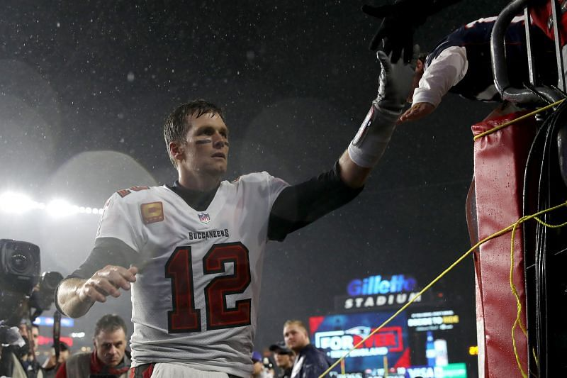 Tom Brady and the Bucs escaped New England with a hard fought win on Sunday