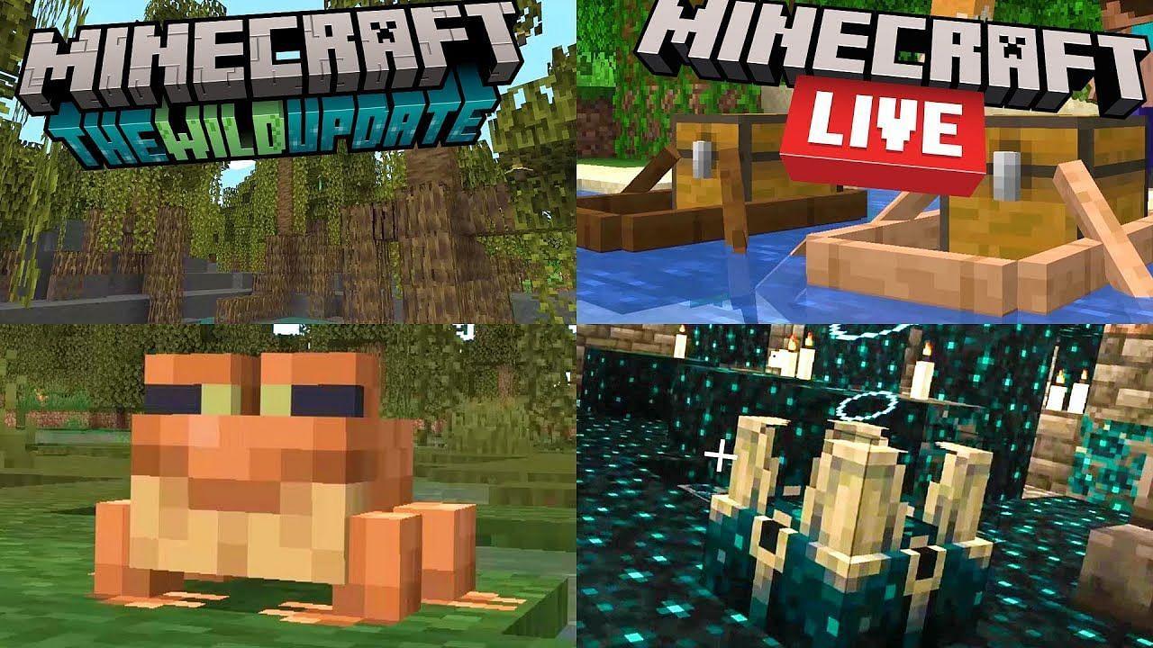 Minecraft 1.19 The Wild Update: Mangroves, frogs, deep dark caves, and more revealed - Sportskeeda