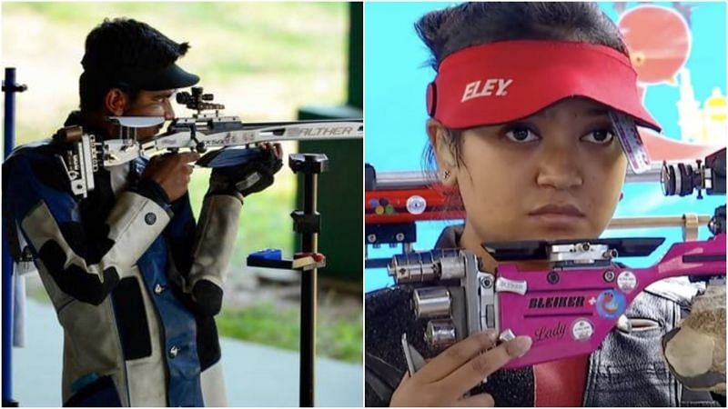 Aishwary Pratap Singh Tomar-Ayushi Podder clinches silver in 50m Rifle 3 positions mixed team