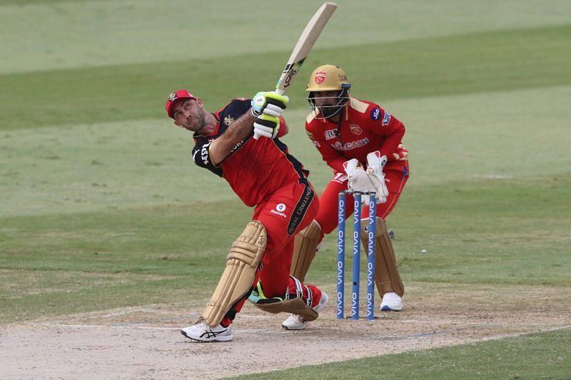 ग्लेन मैक्सवेल बल्लेबाजी के दौरान (Photo Credit - IPLT20)