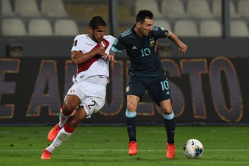 Peru take on Argentina this week