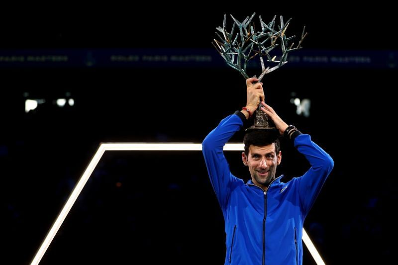 Novak Djokovic is a five-time champion at the Rolex Paris Masters