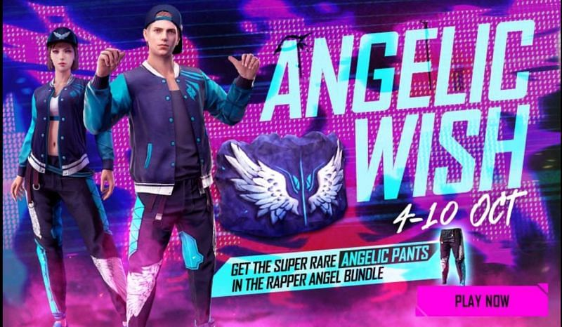 Angelic Wish offers players with numerous rewards (Image via Free Fire)