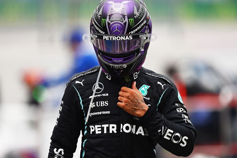 Lewis Hamilton's decision to not pit when Mercedes asked him to possibly cost him a podium. Photo: Dan Mullan/Getty Images
