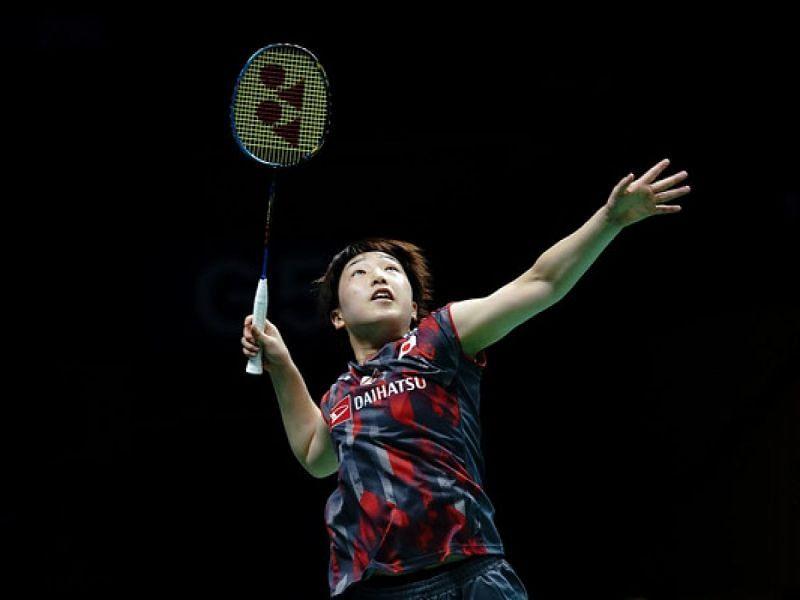 Akane Yamaguchi stunned Tokyo Olympics gold medal winner Chen Yu Fei to help Japan level tie 1-1