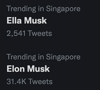 Ella Musk from Genshin Impact and Elon Musk are now trending on Twitter (Image via Twitter)