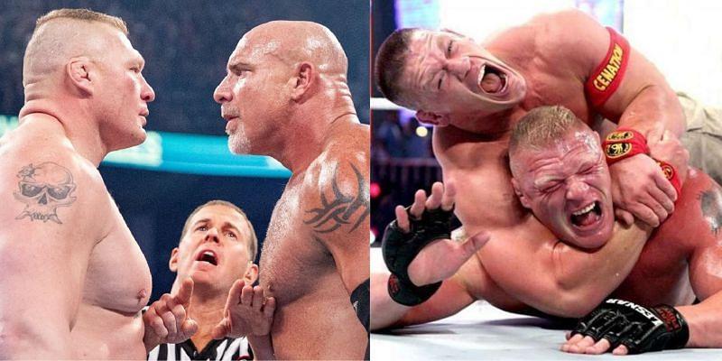 WWE के कुछ सुपरस्टार्स ब्रॉक लैसनर की बुरी हालत कर चुके हैं
