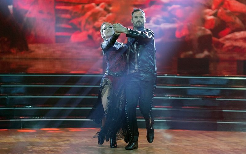 Sharna Burgess and Brian Austin Green on Dancing with the Stars (Image via ABC/Christopher Willard)