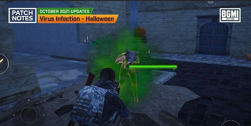 Infection mode in BGMI 1.6.5 update (Image via Krafton)